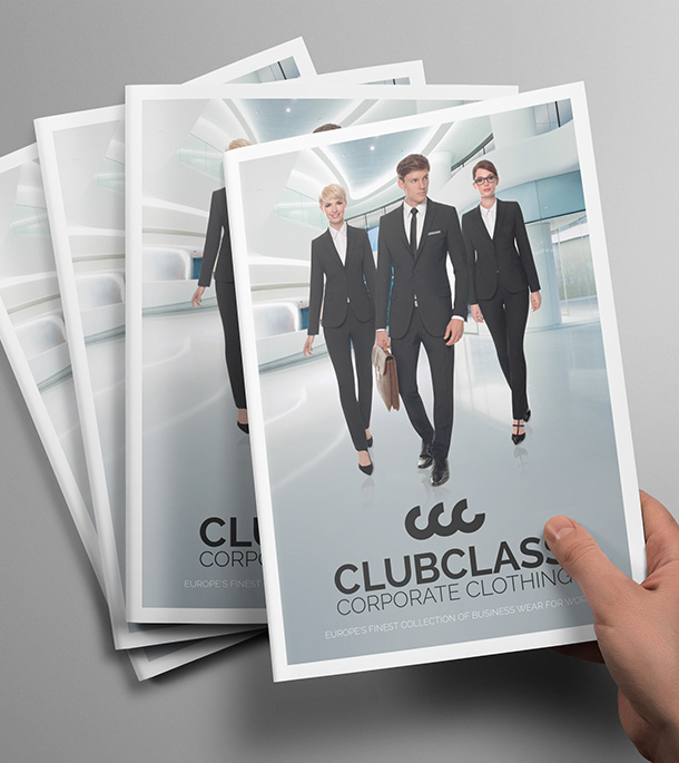 Brochures | Clubclass Corporate Clothing – Business Wear